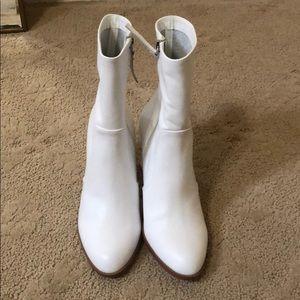 Brand New Chinese Laundry White Booties